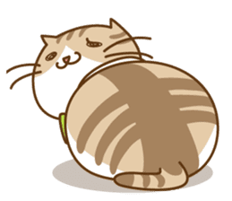 Chubby'n Fatty but Cutie Cat! sticker #455088