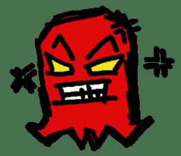 Let's go Tako-san Uisonah sticker #455312