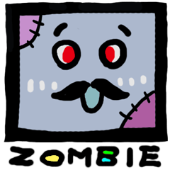 ZOMBIE Square Face