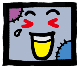 ZOMBIE Square Face sticker #455426