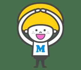 Matthew the Mushroom sticker #456500