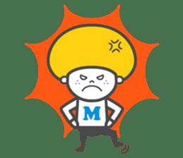 Matthew the Mushroom sticker #456506