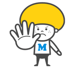 Matthew the Mushroom sticker #456509