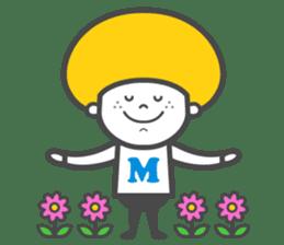 Matthew the Mushroom sticker #456513