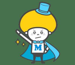 Matthew the Mushroom sticker #456521