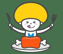 Matthew the Mushroom sticker #456524