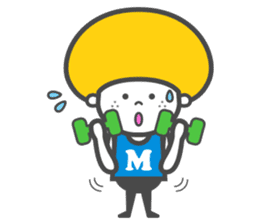 Matthew the Mushroom sticker #456525