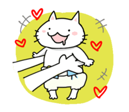 "Cat family ""Ninoneko"" sticker #456818"