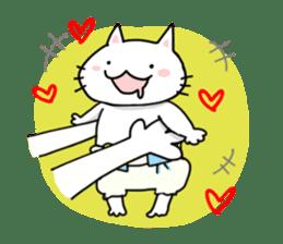 "Cat family ""Ninoneko"" sticker #456818"