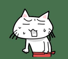 "Cat family ""Ninoneko"" sticker #456821"