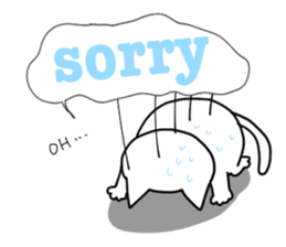 "Cat family ""Ninoneko"" sticker #456826"