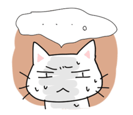 "Cat family ""Ninoneko"" sticker #456829"
