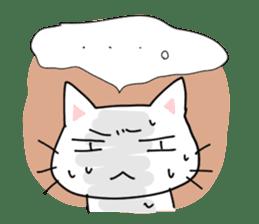 "Cat family ""Ninoneko"" sticker #456829"