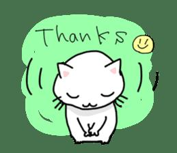 "Cat family ""Ninoneko"" sticker #456840"