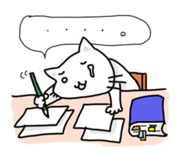 "Cat family ""Ninoneko"" sticker #456841"