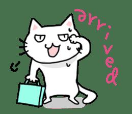 "Cat family ""Ninoneko"" sticker #456842"