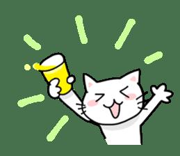 "Cat family ""Ninoneko"" sticker #456848"