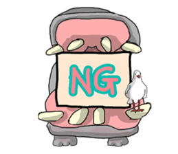 the funny zoo sticker #456976