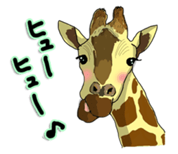 the funny zoo sticker #457001