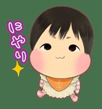 lovely baby sticker #457218