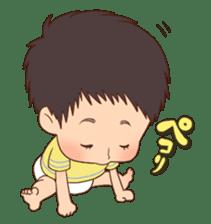 lovely baby sticker #457222