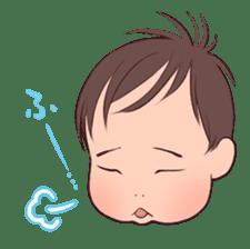 lovely baby sticker #457225