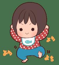 lovely baby sticker #457228