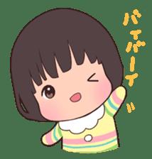 lovely baby sticker #457230