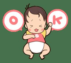 lovely baby sticker #457240