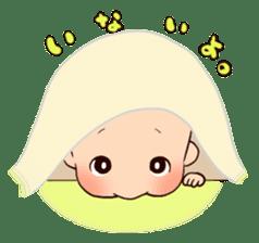 lovely baby sticker #457250