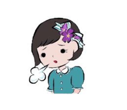 flowerxGirl sticker #457764