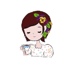 flowerxGirl sticker #457769