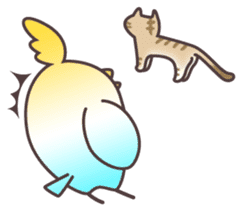 Surprise!!Little bird sticker #457860