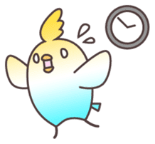Surprise!!Little bird sticker #457881