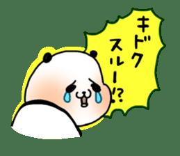 A polar bear and a panda sticker #457906