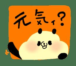 A polar bear and a panda sticker #457928