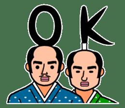 The Samurai Hairstyle sticker #458295