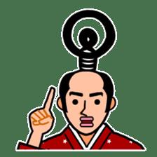 The Samurai Hairstyle sticker #458307