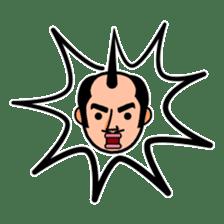 The Samurai Hairstyle sticker #458309
