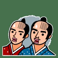 The Samurai Hairstyle sticker #458310