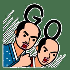 The Samurai Hairstyle sticker #458311