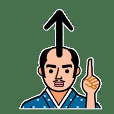 The Samurai Hairstyle sticker #458318