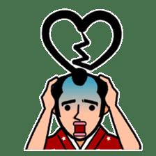 The Samurai Hairstyle sticker #458321