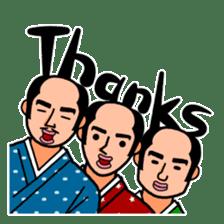 The Samurai Hairstyle sticker #458323