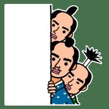 The Samurai Hairstyle sticker #458328