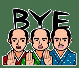 The Samurai Hairstyle sticker #458329