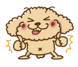 Putaro the Poodle sticker #458341