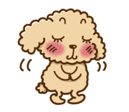 Putaro the Poodle sticker #458357