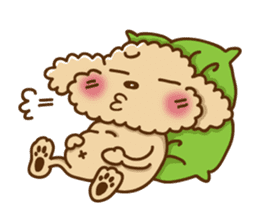Putaro the Poodle sticker #458359
