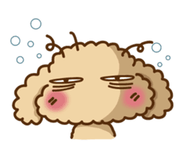 Putaro the Poodle sticker #458361